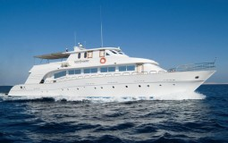 MY Dreams is a small but lovely boat, hosting 16 guests